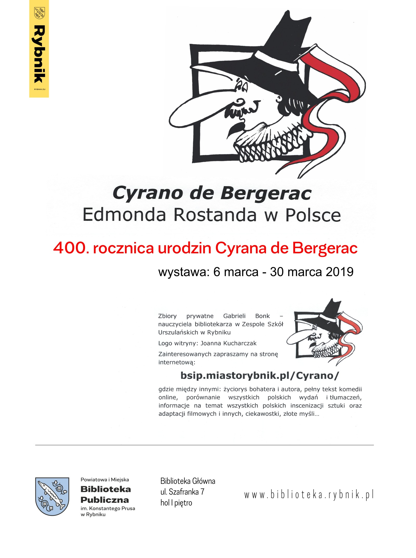 Cyrano De Bergerac Edmonda Rostanda W Polsce